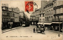 CPA Cherbourg- Place Lafontaine (589332) - Cherbourg
