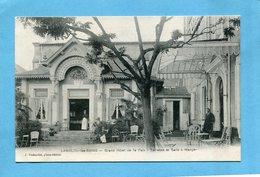 Lamalou Les Bains -grand Hotel -terrasse Animée Beau Plan-a Voagé En 1913-édition Richardet - Lamalou Les Bains