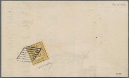 Italien - Altitalienische Staaten: Romagna: 1859, 2 Baj, Tied By Mute Rhombe To Upper Half Of A Prin - Romagne