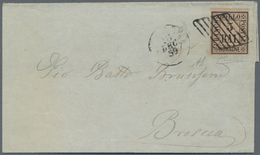 Italien - Altitalienische Staaten: Romagna: 1859, Two Letters (both With Defects, Not Affecting The - Romagne