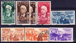 1936 Italia Regno Colonia ETIOPIA - Sas 1/7 (o) CPL - Ethiopia