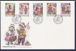Isle Of Man FDC 1993 Christmas (LA21) - Navidad