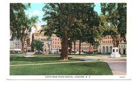 ETATS-UNIS : CONCORD - Visita From State Capitol - Concord