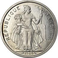 Monnaie, French Polynesia, 2 Francs, 1965, Paris, SPL, Aluminium, KM:3 - Polynésie Française