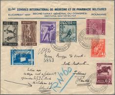 "Rumänien - Stempel: 1937 Rumänien SST ""BUCURESTI IX.CONGRES INTERNATIONAL DE MEDICINE ET DE PHARMACI - Poststempel (Marcophilie)"