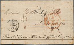Schweiz: 1852 Rechung Von A. Kohler & Fils, Lausanne (datiert 16. März 1852) Nach San Francisco, 'fo - Lettres & Documents