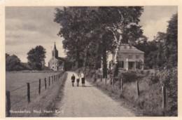 2603829Hoenderloo, Ned. Herv. Kerk.(minuscule Vouwen In De Hoeken) - Pays-Bas