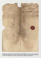Zypern - Vorläufer: 1700, Folded Envelope (opened Out For Display) From Larnaca To Livorno Ms. Ship - Zypern