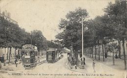 ANGERS - Le Boulevard De Saumur Au Carrefour Du Boulevard Du Roi René Et De La Rue Paul Bert - Angers