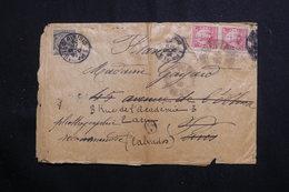 BRÉSIL - Enveloppe En Recommandé Pour La France En 1909, Affranchissement Plaisant -  L 60738 - Briefe U. Dokumente