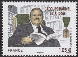 """FR YT 4754 """" Jacques Baumel """" 2013 Neuf** - Nuovi"""