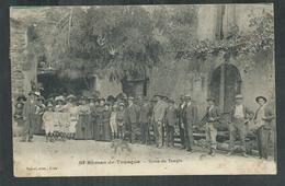 Lozère. Saint Roman De Tousque ; Sortie Du Temple - Autres Communes
