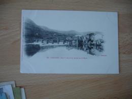 Cpa 12 Millau Vue Generale Pont Carte Dos Simple - Millau