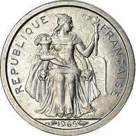 Monnaie, French Polynesia, 50 Centimes, 1965, SPL, Aluminium, KM:1 - Polynésie Française