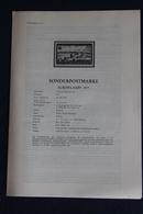 EUROPA - CEPT 1977; 10.6.1978; Legende; Erläuterungsblatt - Autres