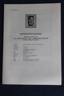 EUROPA - CEPT 1983; 24.6.1983; Legende; Erläuterungsblatt - Europa-CEPT