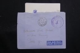 """FRANCE - Enveloppe En FM Pour Paris En 1951 Avec Contenu ( De """" La Digitale"""" à Saïgon ) - L 60744 - Marcophilie (Lettres)"""