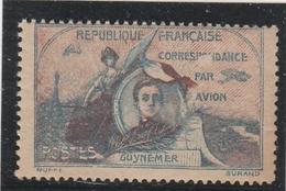 Vignette GUYNEMER Précurseur De Poste Aérienne NEUF - Poste Aérienne