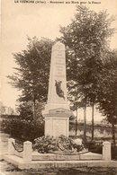 LE VEURDRE  ..ALLIER - Monumentos A Los Caídos