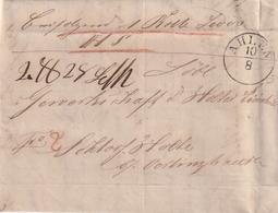 Preussen / 1851 / Nachnahme-Brief K1 AHLEN, Innen Rechnung (BF25) - Preussen