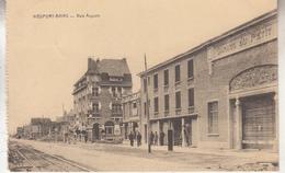 Nieuwpoort - Nieuport-Bains - Voie Auguste - Edit. Hôtel Cosmopilite/Desaix - Kaart Uit Een Boekje - Nieuwpoort