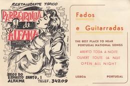LISBOA , Portugal , 40-50s Fados E Guitarradas , Parreirinha De Alfama O Catinho Da Amalia - Lisboa
