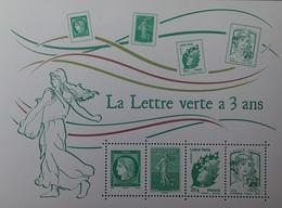 DF40266/1621 - 2014 - LA LETTRE VERTE A 3 ANS - BLOC N°F4908 NEUF** - Ungebraucht