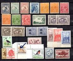 Australie Belle Petite Collection Neufs **/* 1912/12965. Bonnes Valeurs. B/TB. A Saisir! - Australie