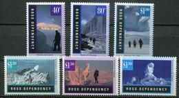 Ross Dependency Antarctica Mi# 38-43 Postfrisch/MNH - Landscapes - Neufs