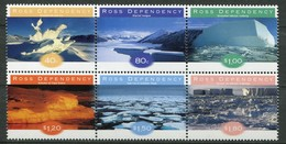 Ross Dependency Antarctica Mi# 54-9 Postfrisch/MNH - Landscapes - Neufs