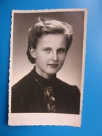 Beautiful  Girl  / Belle Fille / Schönes Mädchen   Photo   Latvia / Lettonie 1943  WWII - Personnes Anonymes