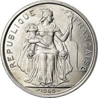 Monnaie, French Polynesia, 5 Francs, 1965, Paris, SPL, Aluminium, KM:4 - Polynésie Française