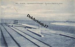 CPA 17 ILE-DE-RÉ - Appontement De Sablanceaux - Paquebot En Rade De La Pallice - Ile De Ré