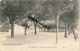 CPA 17 ROYAN - Promenade De Foncillon - Animée - Royan