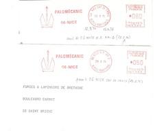 EMA FRANCE PALOMECANIC NICE CAP DE CROIX RP AN2 ANCRE ANKER ALPES MARITIMES - Marítimo
