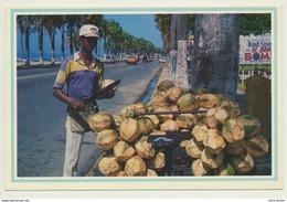 AK  Dominikanische Republik  Santo Domingo Straßenhändler - Dominicaine (République)