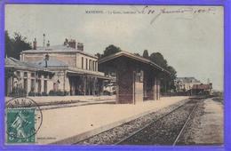 Carte Postale  53. Mayenne  La Gare  Intérieur Très Beau Plan - Mayenne