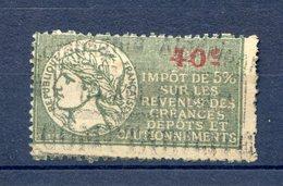 150520//// FISCAL IMPOTS SUR CREANCE - Fiscales