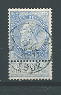 [60_0001] Zegel 60 Met Cirkelstempel Laeken Scan Voor- En Achterzijde - 1893-1900 Thin Beard