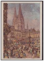 """DT- Reich (003957) Ganzsache P277 """"Kölner Karneval"""" Mit SST Köln 20.2.1939 """"Singendes, Klingendes, Lachendes Köln"""" - Germania"""
