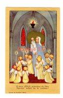 Image Pieuse / Religion Croyance Fabienne 12/06/1955 Vierge Enfant Jesus Lumiere Rochefort Carmel - Santini