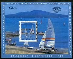 New Zealand Mi# Block 25 Postfrisch/MNH - Ship - Postal Fiscal Stamps