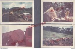 Au Plus Rapide Afrique 1962 Travail Du Bois Camion Henschel Bull-dozer Animation Beau Format - Africa