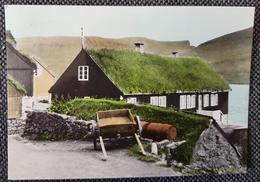 Faroe Gomul Bondahus I Bø 1963 - Islas Feroe