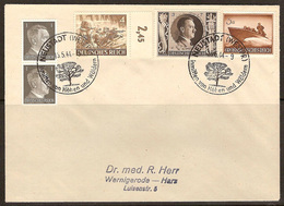 WW II - Briefumschlag Mit Sondermarke + Sonderstempel - Neustadt (Westpr) Inmitten Von Höhen Und Wäldern. 15/05/1944 - Allemagne