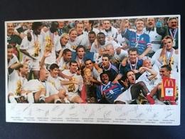 Coupe Du Monde. France 98.On Est Champion Du Monde. - Soccer