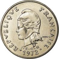 Monnaie, Nouvelle-Calédonie, 20 Francs, 1972, Paris, SPL, Nickel, KM:12 - New Caledonia