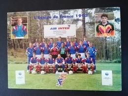 L'équipe De France 1993. - Football