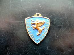 Distintivo Polizia Stradale Bologna Anni '30 Circa - Jetons & Médailles