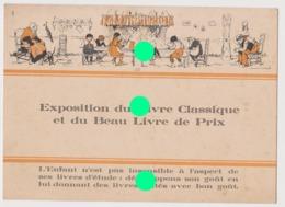 Maison Du Livre Rue De La Madeleine Bruxelles 1924 Carton D'invitation Roméo Dumoulin Illustrateur De Tournai RARE - Programs